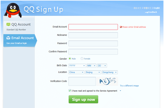cuenta QQ