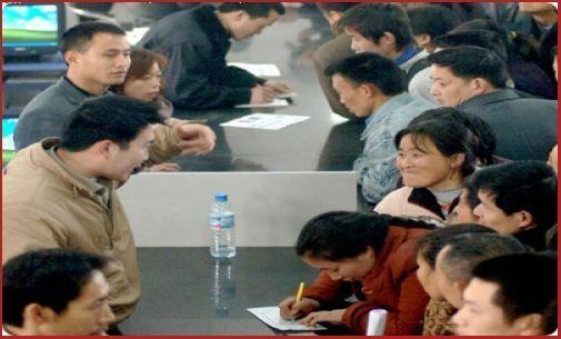 trabajo en china